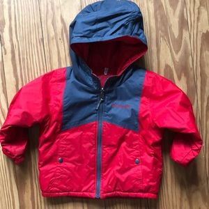 Reversible Toddler Columbia Puffer/Ski Jacket